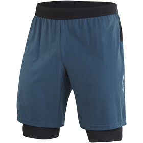 Löffler Aero CSSL 2-in-1 Shorts Heren, pond green